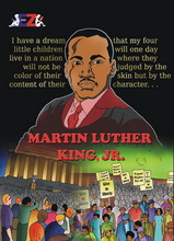 Martin Luther King, Jr. Comic Book Cover