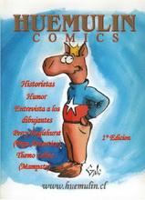 Huemulin Comics Book Cover