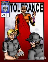 """Tolerance : """"...I don't believe in that junk!"""" Book Cover"""